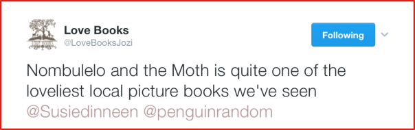 Nombulelo and the Moth Love Books
